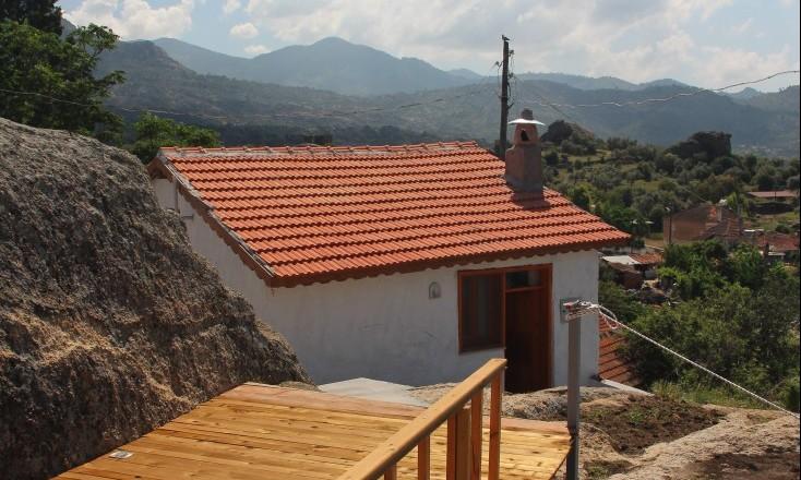 Haus von Terrasse
